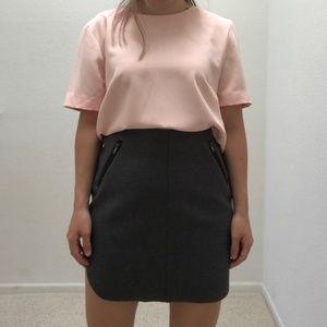 Zip pocket dolphin skirt